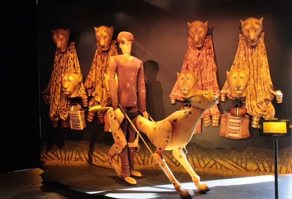Photo Coverage: INSIDE THE LION KING Bryant Park Pop-Up Exhibit!