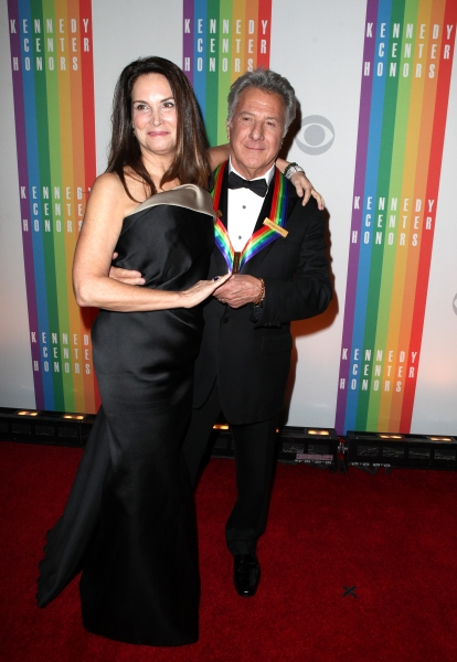 Lisa Gottsegen  & Dustin Hoffman at Inside the 35th Kennedy Center Honors - The Honorees!