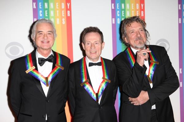 Jimmy Page, John Paul Jones and Robert Plant (Led Zepplin)