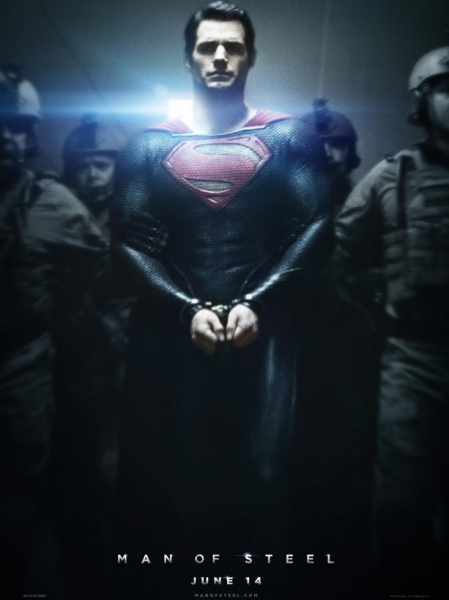 Photo Flash: First Look - New Poster for MAN OF STEEL