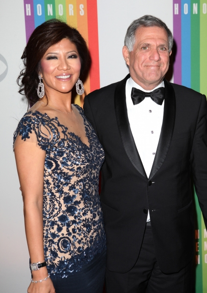 Julie Chen & Les Moonves  at  Inside the 35th Kennedy Center Honors - The Men