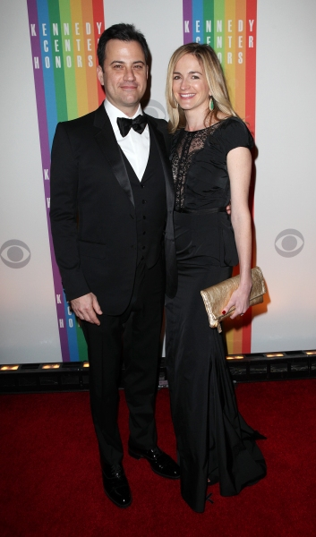 Jimmy Kimmel & Molly McNearney Photo