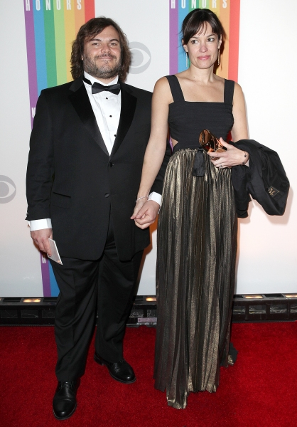 Jack Black & wife Tanya Haden  Photo
