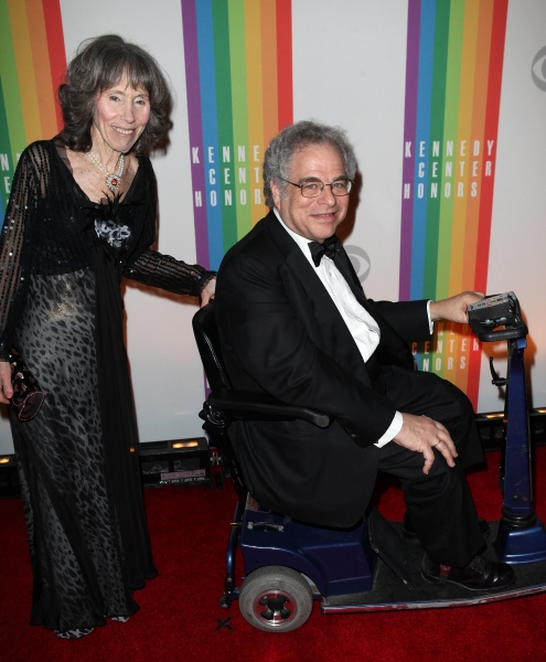 Itzhak Perlman  & wife Toby  at  Inside the 35th Kennedy Center Honors - The Men