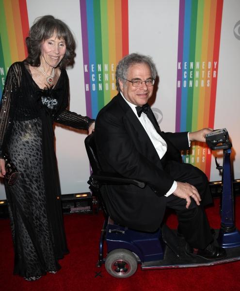 Itzhak Perlman  & wife Toby
