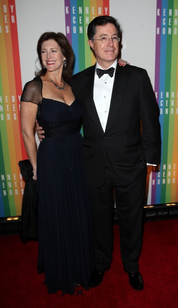 Stephen Colbert and his wife Evelyn McGee-Colbert