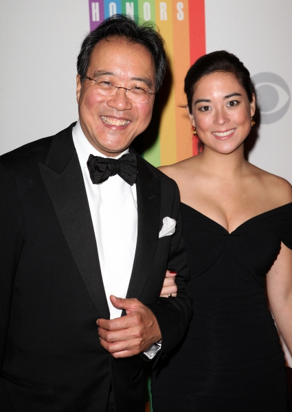 Yo-Yo Ma & daughter at  Inside the 35th Kennedy Center Honors - The Men