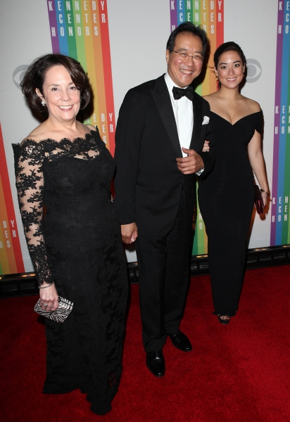 Yo-Yo Ma  wife, Jill Horner & daughter