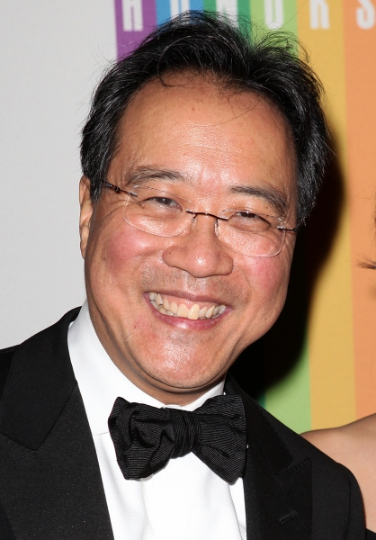Yo-Yo Ma   at  Inside the 35th Kennedy Center Honors - The Men