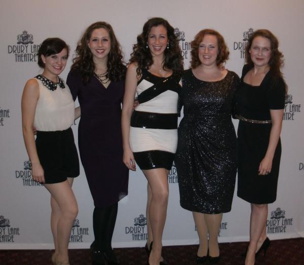 Karissa Barney, Megan Farley, Alexandria Van Paris, Katie Mazzini, Allyson Graves Photo