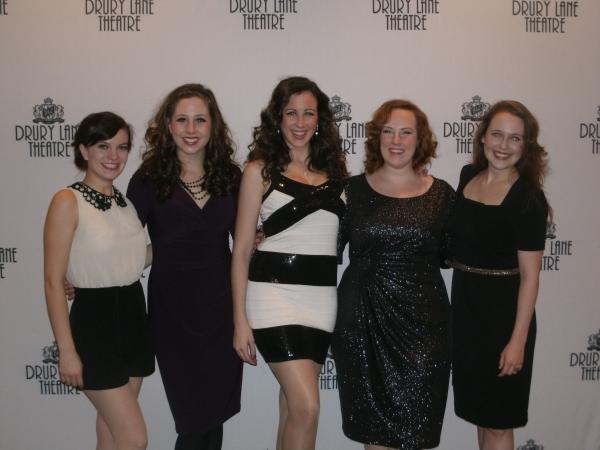 Karissa Barney, Megan Farley, Alexandra Van Paris, Katie Mazzini, Allyson Graves Photo