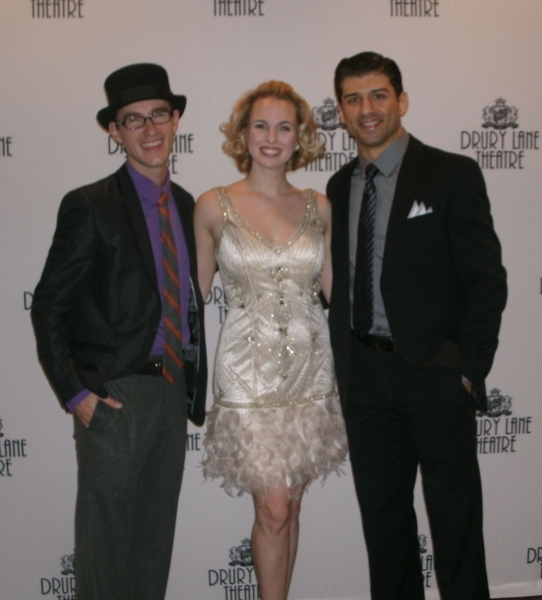 Matthew Crowle, Jenny Guse, Tony Yazbeck at SINGIN' IN THE RAIN Opens at Drury Lane Theatre!