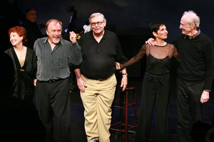 Margery Cohen, George Lee Andrews, Richard Maltby, Jr., Loni Ackerman and David Shire at Loni Ackerman, Margery Cohen, and More Return to STARTING HERE, STARTING NOW
