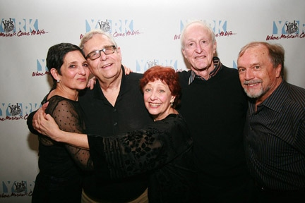 Loni Ackerman, Richard Maltby, Jr, Margery Cohen, David Shire and George Lee Andrews at Loni Ackerman, Margery Cohen, and More Return to STARTING HERE, STARTING NOW