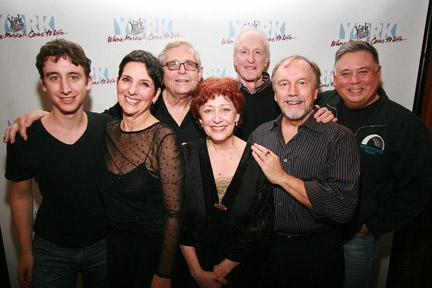 Danny Weller (bass player), Loni Ackerman, Richard Maltby, Jr, Margery Cohen, David Shire, George Lee Andrews and Kevin Stites at Loni Ackerman, Margery Cohen, and More Return to STARTING HERE, STARTING NOW
