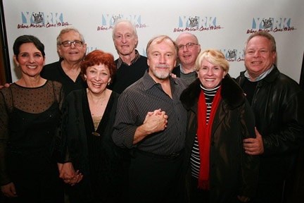 Danny Weller (bass player), Loni Ackerman, Richard Maltby, Jr, Margery Cohen, David Shire, George Lee Andrews Erik Haagensen, and original producers Mary Jo Slater & Arthur Toretzky