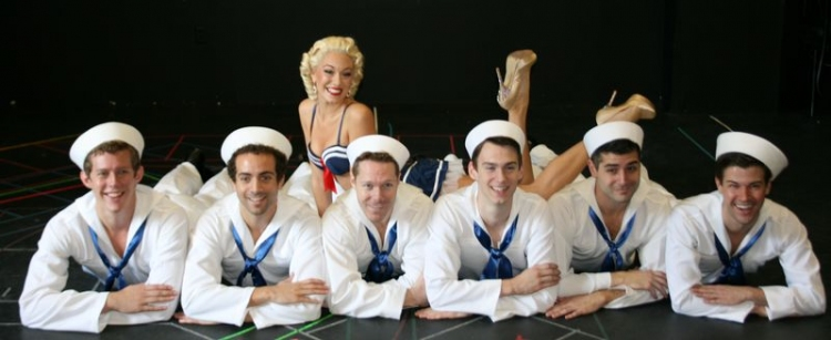 High Res Erma (Jessica Moore) with the Sailors