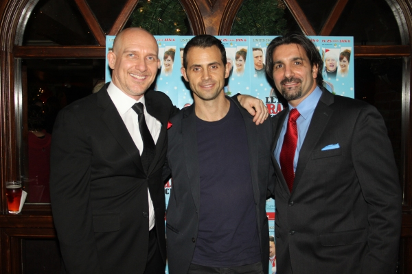 John Dapolito, Brian Gianci and Robert Nicotra