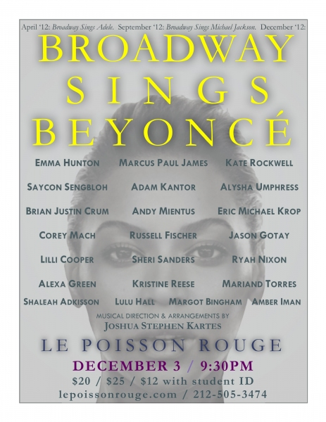 Photo Coverage: Andy Mientus , Kate Rockwell, and More in BROADWAY SINGS BEYONCE