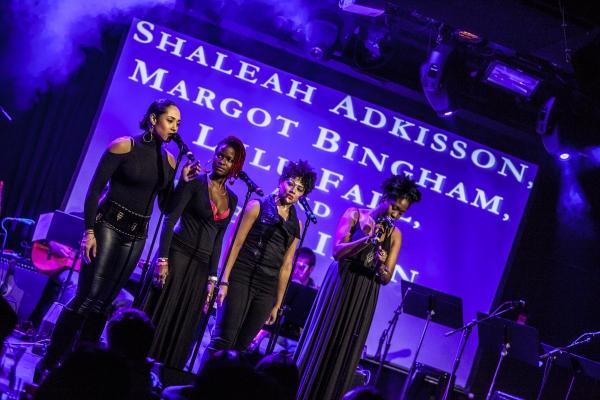 Morgot Bingham, Lulu Hall, Shaleah Adkisson and Amber Iman