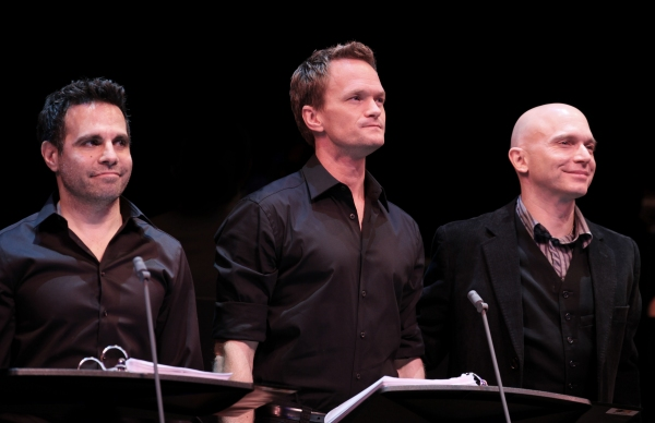 Mario Cantone, Neil Patrick Harris & Michael Cerveris at Inside the ASSASSINS Reunion Benefit- Neil Patrick Harris, Michael Cerveris, Marc Kudisch & More!