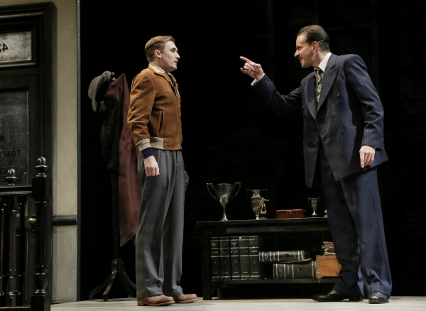 Photo Flash: Complete First Look at Seth Numrich, Danny Burstein and More in LCT's GOLDEN BOY!
