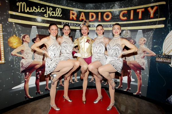 Photo Flash: Rockettes Unveil New Costume for Madame Tussauds' Wax Figure
