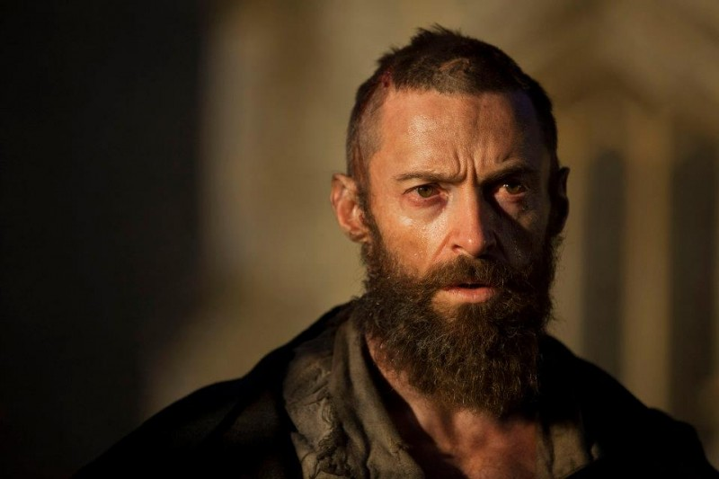 BEYOND THE BARRICADE: Hugh Jackman & Anne Hathaway Talk Head Shaving & Losing Weight