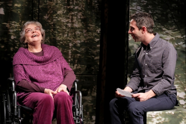 Photo Flash: First Look at Peter Friedman, Becky Ann Baker and More in THE GREAT GOD PAN at Playwrights Horizons