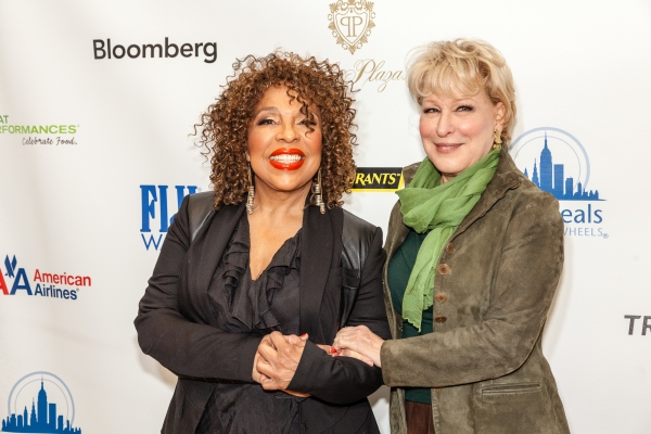Roberta Flack, Bette Midler at Audra McDonald, Bette Midler and More at CityMeals on Wheels' 26th Annual Power Lunch for Women