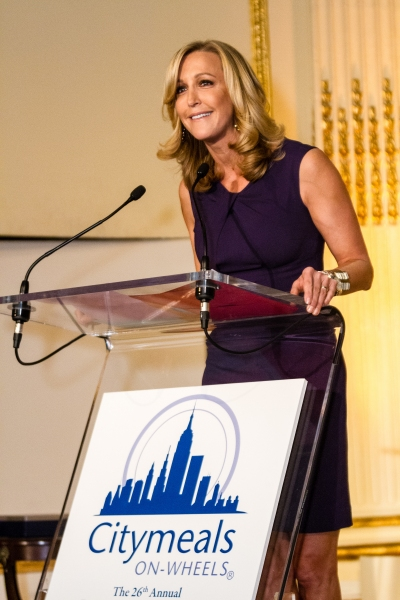 Lara Spencer  at Audra McDonald, Bette Midler and More at CityMeals on Wheels' 26th Annual Power Lunch for Women