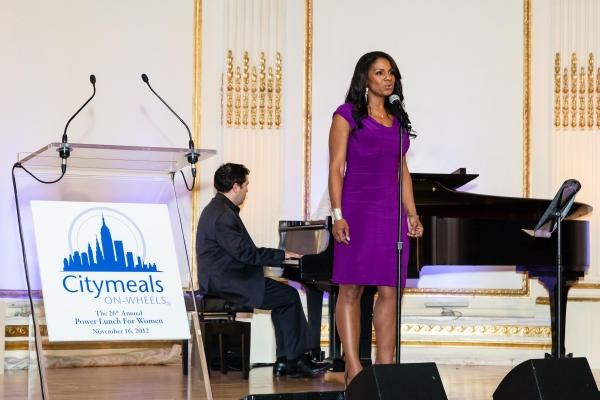 Audra McDonald  at Audra McDonald, Bette Midler and More at CityMeals on Wheels' 26th Annual Power Lunch for Women