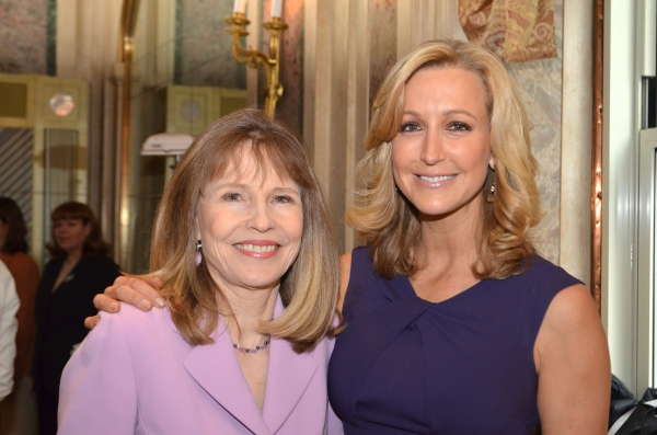 Donna Hanover and Lara Spencer