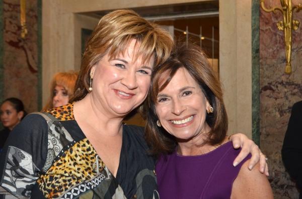 Karen Page and Rikki Klieman