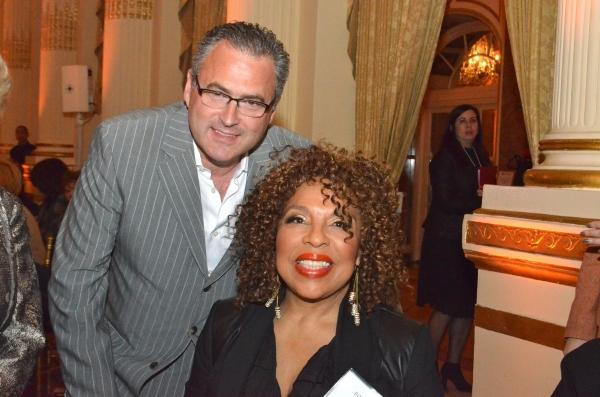 Ed Brown and Roberta Flack  Photo