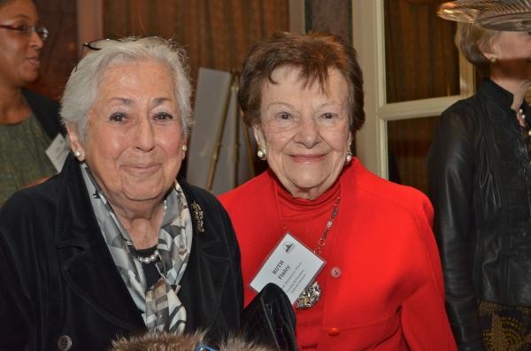 Joan Helpern and Ruth Finley  Photo