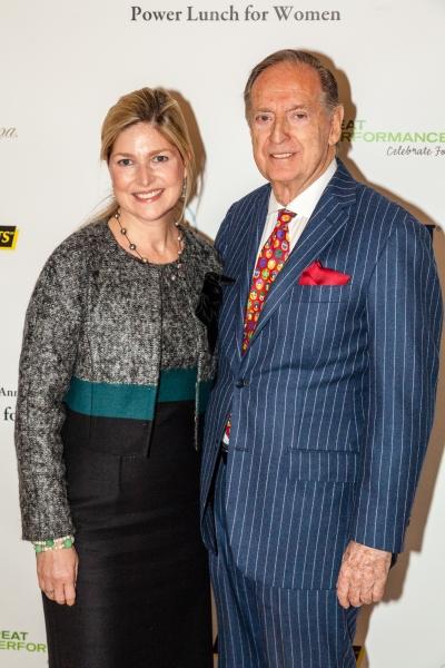Stacy Fischer-Rosenthal and Bill Fischer