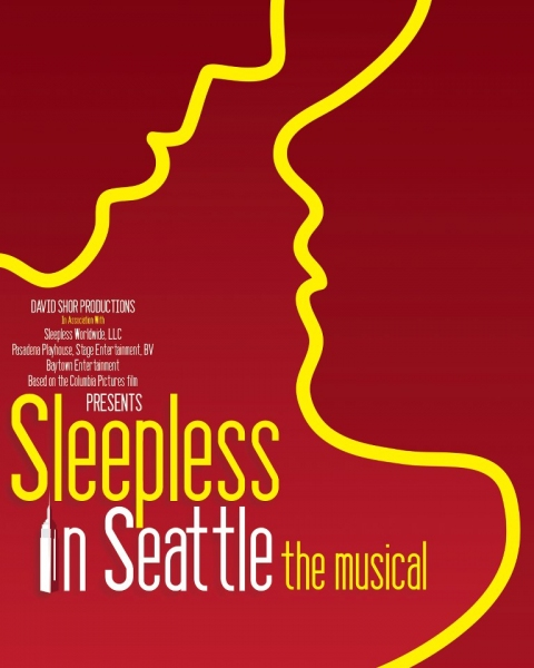 Photo Flash: Artwork Revealed for SLEEPLESS IN SEATTLE - THE MUSICAL!