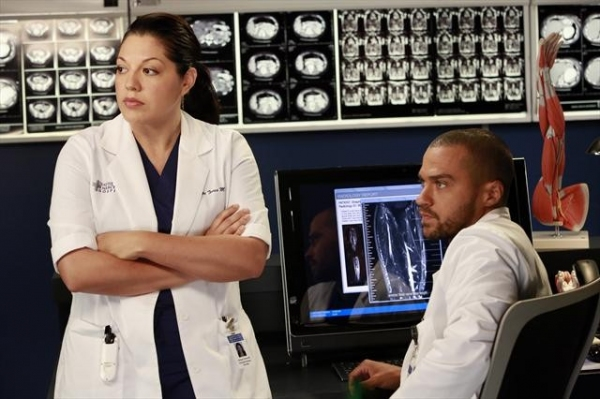 SARA RAMIREZ, JESSE WILLIAMS at First Look - GREY'S ANATOMY's  'Run Baby Run,' Airing 12/13