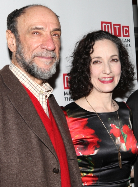 F. Murray Abraham & Bebe Neuwirth at Bebe Neuwirth, Lee Pace, F. Murray Abraham and Cast of GOLDEN AGE Celebrate Opening Night!