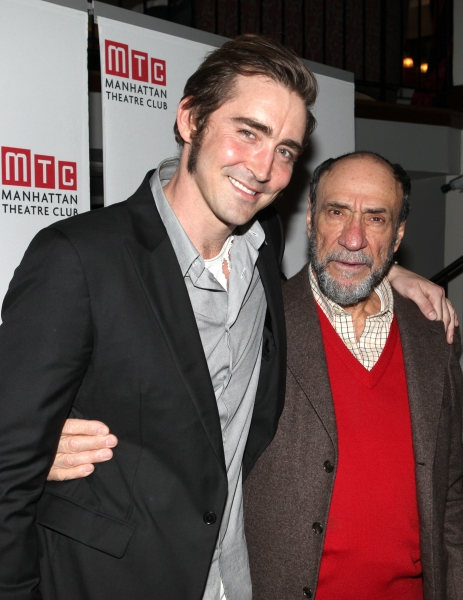 Lee Pace & F. Murray Abraham at Bebe Neuwirth, Lee Pace, F. Murray Abraham and Cast of GOLDEN AGE Celebrate Opening Night!