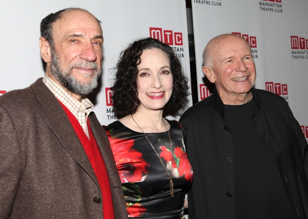 F. Murray Abraham, Bebe Neuwirth & Terrence McNally at Bebe Neuwirth, Lee Pace, F. Murray Abraham and Cast of GOLDEN AGE Celebrate Opening Night!