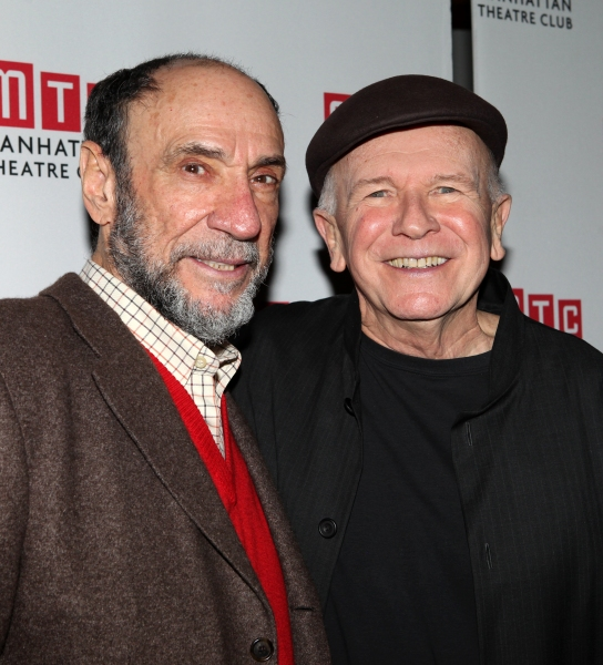 F. Murray Abraham & Terrence McNally at Bebe Neuwirth, Lee Pace, F. Murray Abraham and Cast of GOLDEN AGE Celebrate Opening Night!