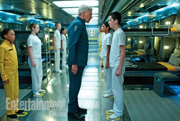 Photo Flash: First Look - Harrison Ford in ENDER'S GAME