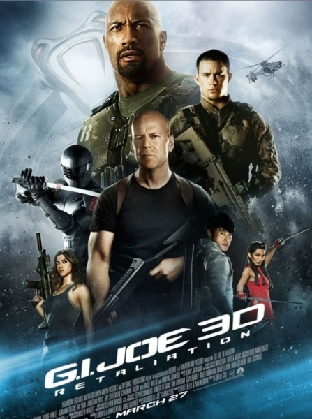 Photo Flash: First Look - New International Poster for G.I. JOE: RETALIATION