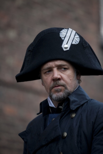 Russell Crowe at Complete First Look at LES MISÉRABLES on the Silver Screen - New Production Photos & More!