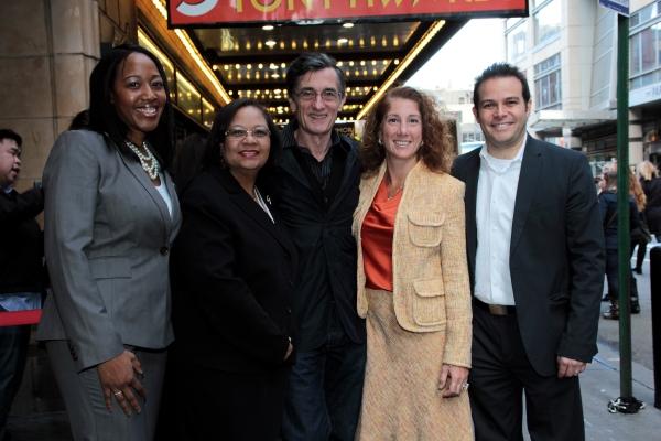 Janel Matthews, Dr. Dorita Gibson, Roger Rees, Dr. Laura Feijo, Peter Avery