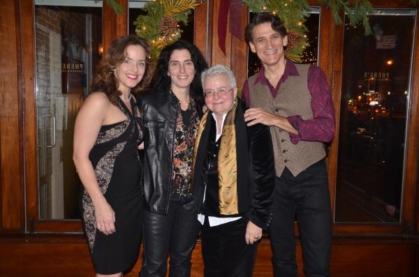 Alice Ripley, Tina Landau, Paula Vogel, Bob Stillman