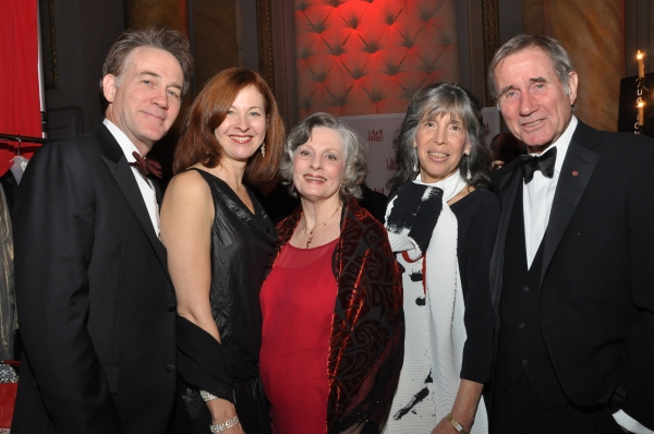 Boyd Gaines, wife Kathleen McNenny, Dana Ivey, Julie Dale, and Jim Dale Photo