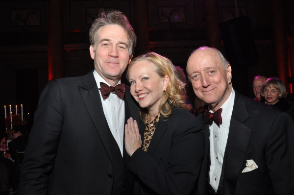Boyd Gaines, Susan Stroman, Earl Weiner at Kate Baldwin, James Houghton, and More at Acting Company Gala